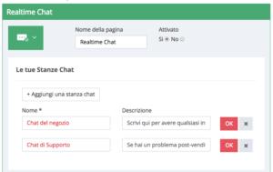 Funzione Chat Migastone